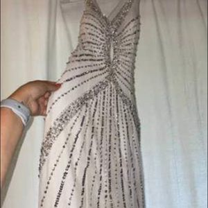 Sequence Prom Gown